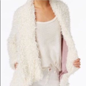 Free People Faux Fur Fluff Coat